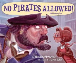 No Pirates Allowed! Said Library Lou
