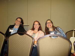 Blogger trio