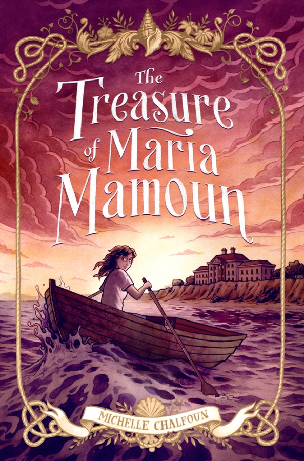 cover of The Treasure of Maria Mamoun by Chalfoun