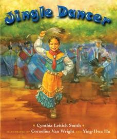 cover of Jingle Dancer by Leitich Smith, Van Wright and Hu