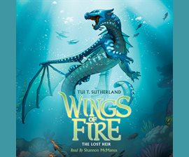 cover of The Lost Heir, Wings of Fire book 2 by Sutherland