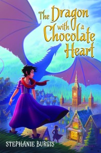 The Dragon with a Chocolate Heart by Stephanie Burgis