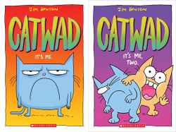 Catwad: It's Me and Catwad: It's Me, Two covers by Jim Benton