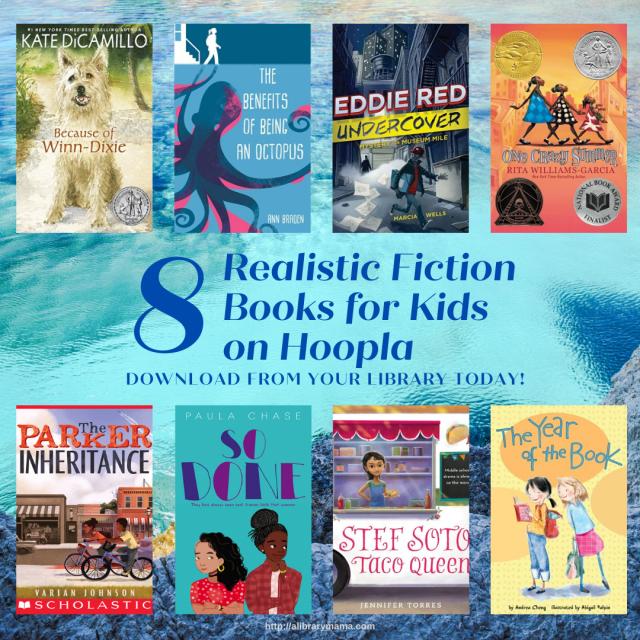 Realistic Fiction for Kids on hoopla