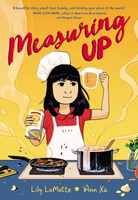 Cover of Measuring Up by Lily LaMotte and Ann Xu.